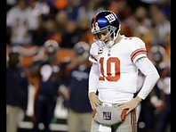 Eli Manning Gets injured