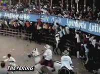Bullfighter fail