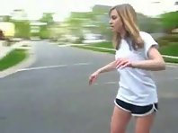 Girl Skateboard FAIL
