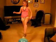Girl On A Ball Fail