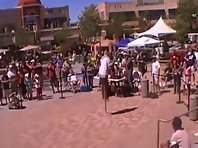 Pogo Stick Double Backflip FAIL!