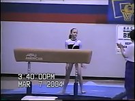 Gymnastics fall [broken elbow]